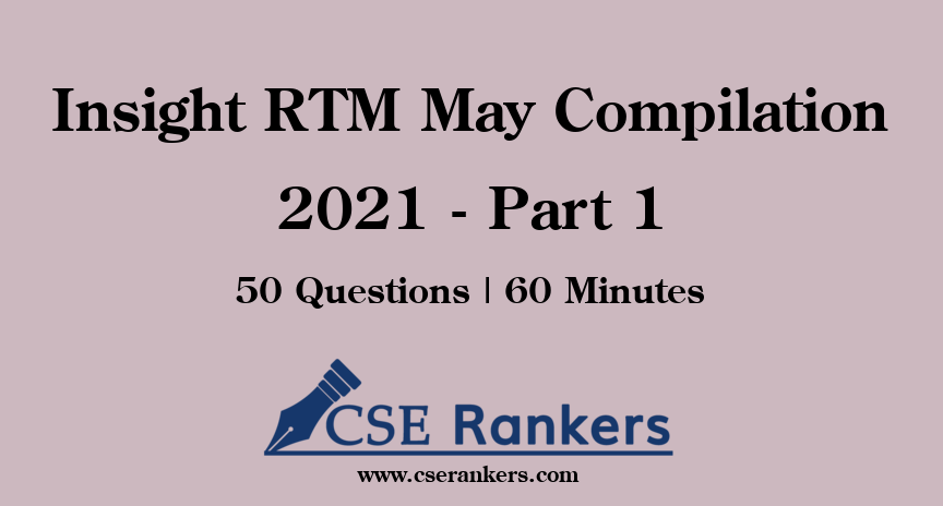 Insight RTM May Compilation 2021 - Part 1