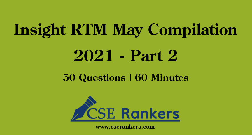 Insight RTM May Compilation 2021 - Part 2