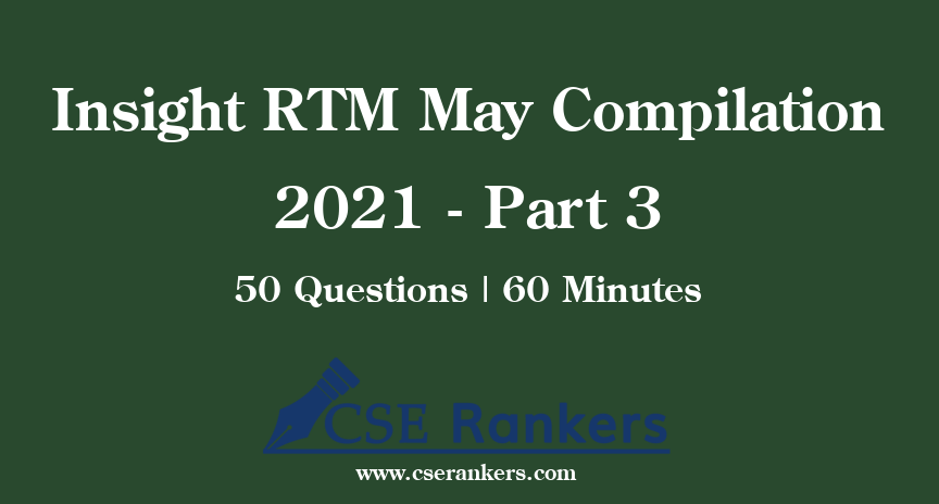 Insight RTM May Compilation 2021 - Part 3